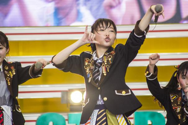 TIF2015 HKT48 ホットステージ19