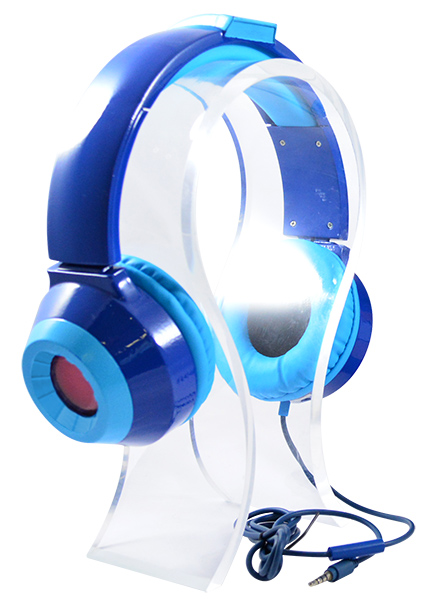 「LIMITED EDITION Mega Man(C)HD LED Headphones」3