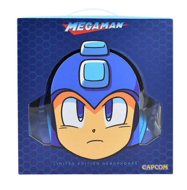 「LIMITED EDITION Mega Man(C)HD LED Headphones」1