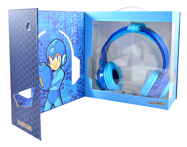 「LIMITED EDITION Mega Man(C)HD LED Headphones」2