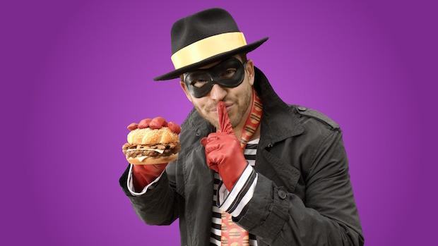 かつてのマック人気キャラ、ハンバーグラーがダンディーに復活!?