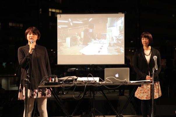 京都精華大学によるプレゼンテーション