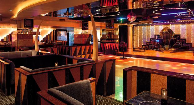 会場となる旅館「葉渡莉」内にあるクラブ21/画像は公式Webサイトより
