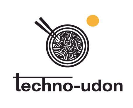 「テクノうどん」ロゴ