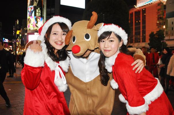 2014年12月25日 クリスマス様子@渋谷