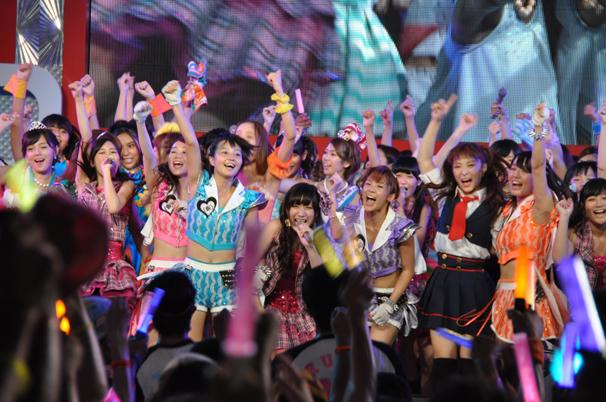 """超过40,000名访客! """"东京偶像节(TIF)2014""""以957人为特色"""
