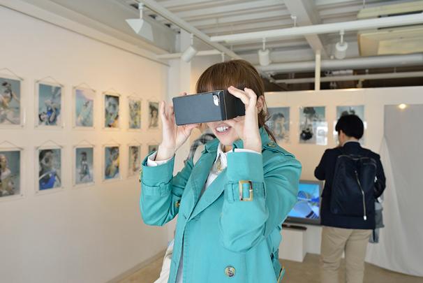 京都展での体験の様子/写真:逢坂憲吾