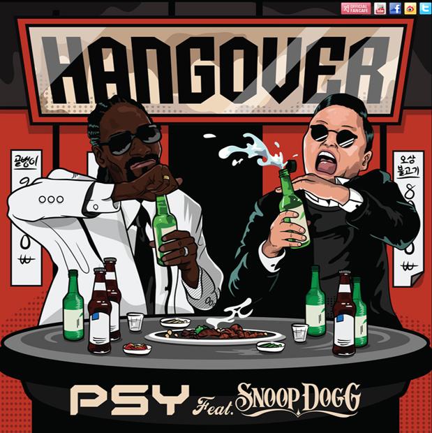 PSY、新曲「HANGOVER」はスヌープ・ドッグと共演! MVフル公開