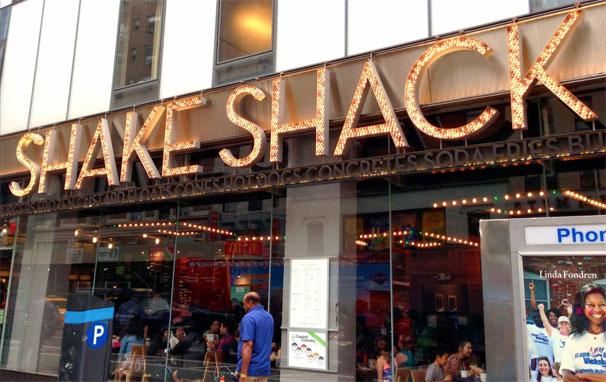 NYにあるシェイクシャック