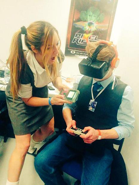 VR技術でレトロな世界へ!PCゲーム『Pixel Rift』が超楽しそう