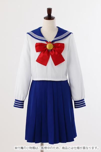 区立十番中学校制服(女子)/©武内直子・PNP・講談社・東映アニメーション