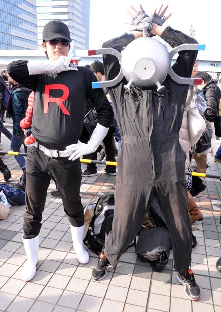ロケット団+コイル