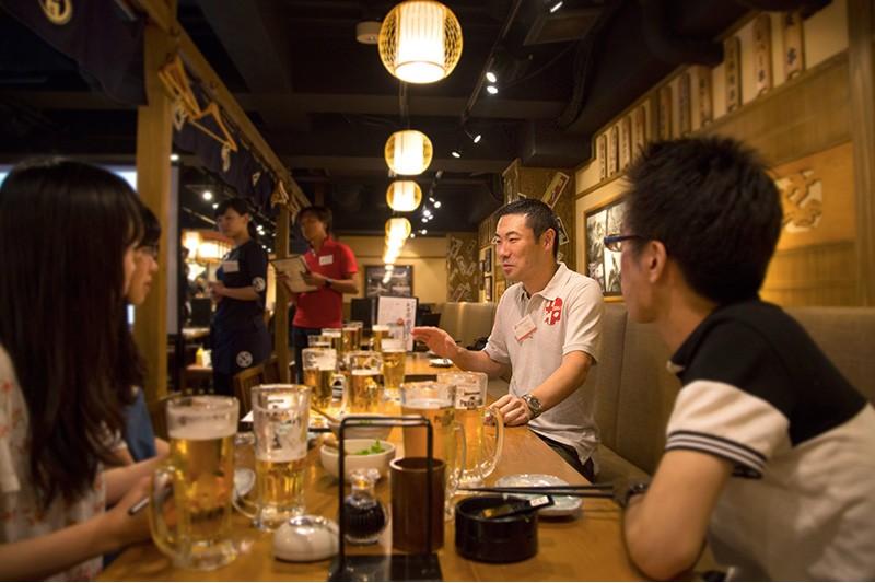 2015年度「就活応援0円酒場」の様子/採用担当ブログより