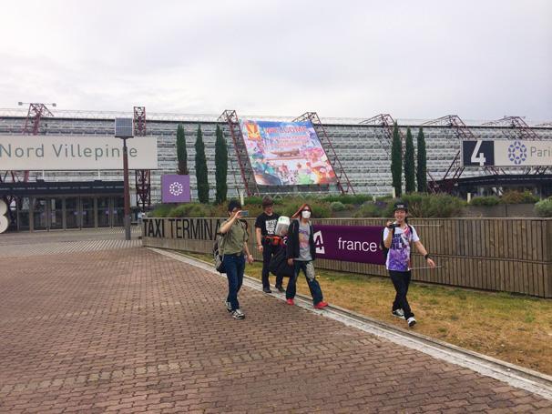 「パリ・ノールヴィルパント展示会場」入口