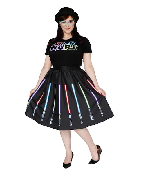 Lightsaber Skirt/ショッピングサイトHer Universeより
