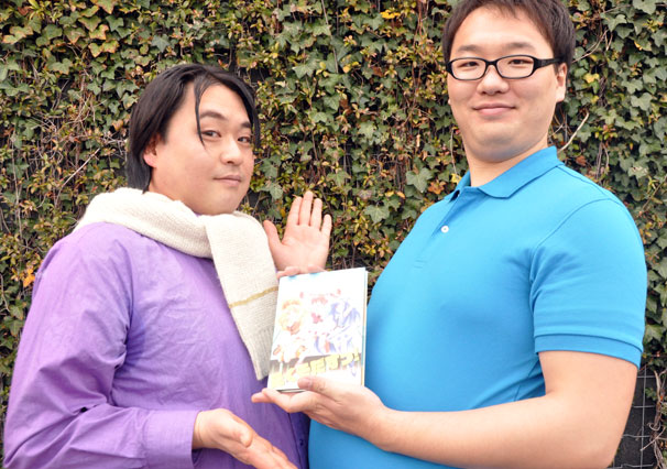SHIROBAKO_本田デスクと木下監督2
