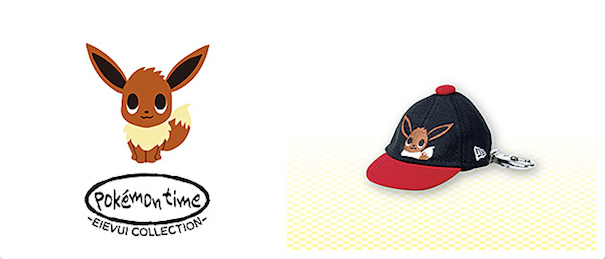 NEW ERA キャップキーホルダー pokémon time EIEVUI COLLECTION