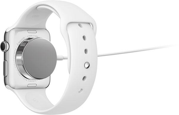 充電中のApple Watch