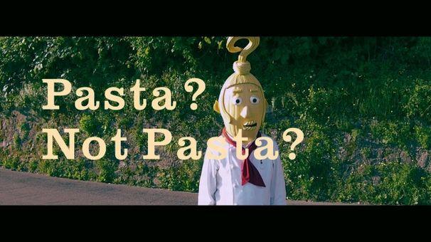 パスタ判定キャラクターのパスタ=ジャッジ氏さん