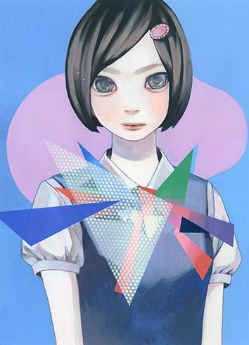 少女から見る過去と現在 大槻香奈が京都嵯峨芸術大学で個展開催