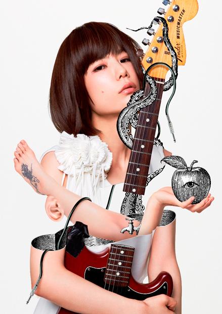 後藤まりこ始動! 10月に新アルバム発売&ワンマン、ツアー決定