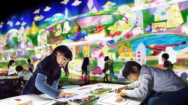 知育の常識を覆す! チームラボの遊んで学べる「未来型遊園地」が横浜で開催