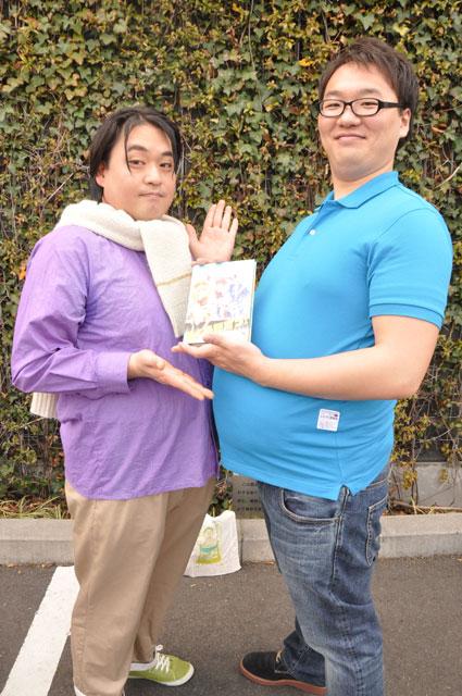 SHIROBAKO_本田デスクと木下監督