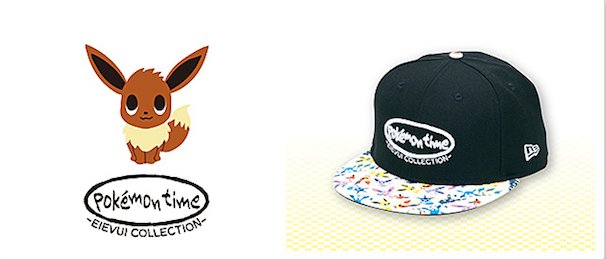 NEW ERA 59FIFTY キャップ pokémon time EIEVUI COLLECTION