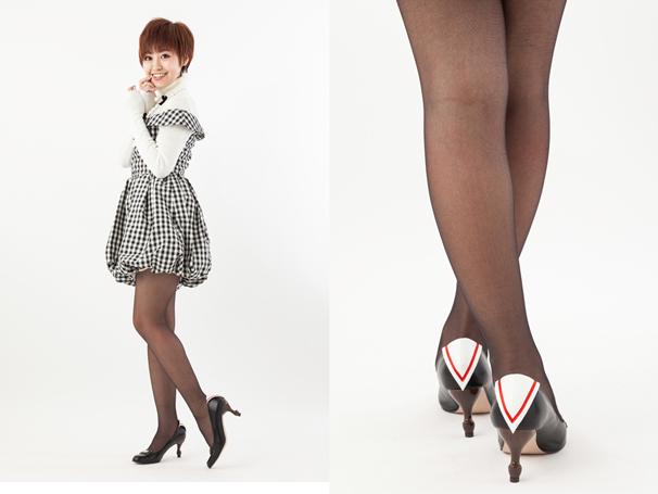 友枝小学校制服モデルパンプス
