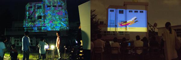 過去の「夜空の校庭上映会」の様子/画像は公式Webサイトより(C) Toshima Summer Arts Festival 2014, All right reserved.