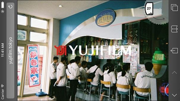 「YUJIFILM」3
