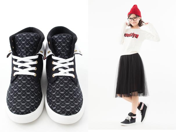 友枝小学校制服モデルスニーカー
