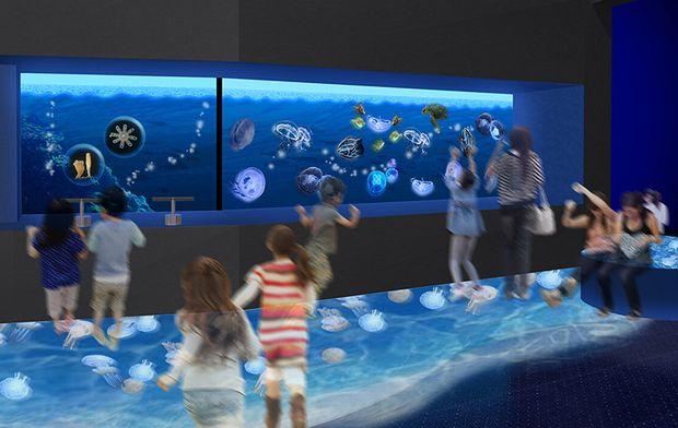 実物と3Dのクラゲに癒される 鴨川シーワールドの新施設「Kurage Life」