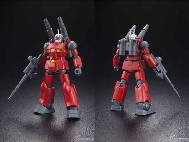 HGUC 1/144 RX-77-2 ガンキャノン(画像はGUNDAM.INFOより)/(C)2015 sunrise Inc, All rights reserved.