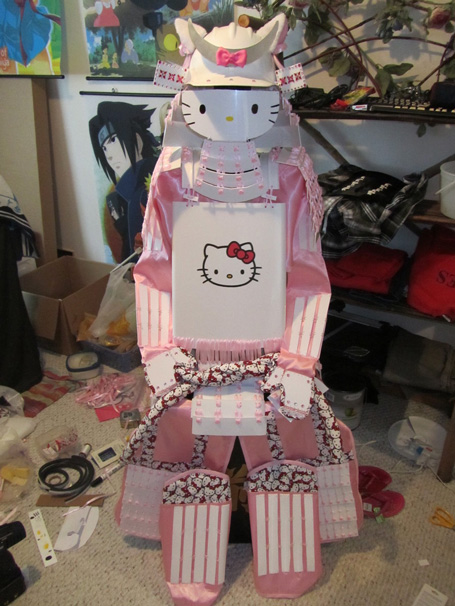 Hello Kitty Samurai Armor front