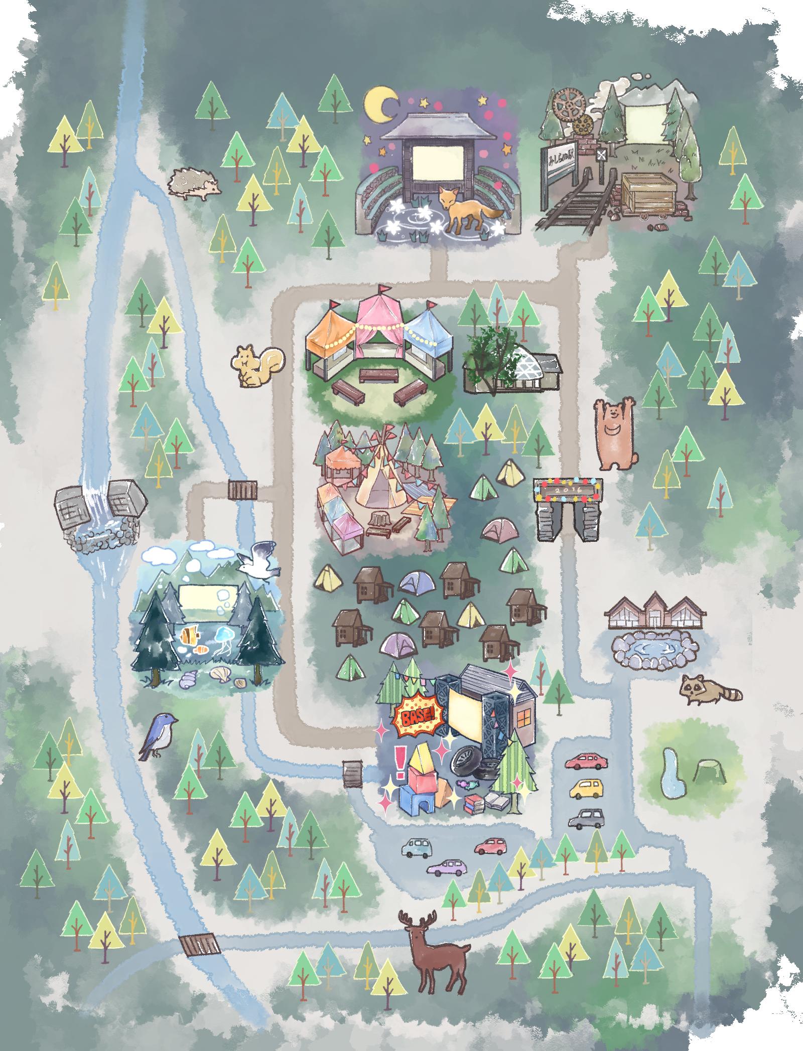 森の映画祭_map