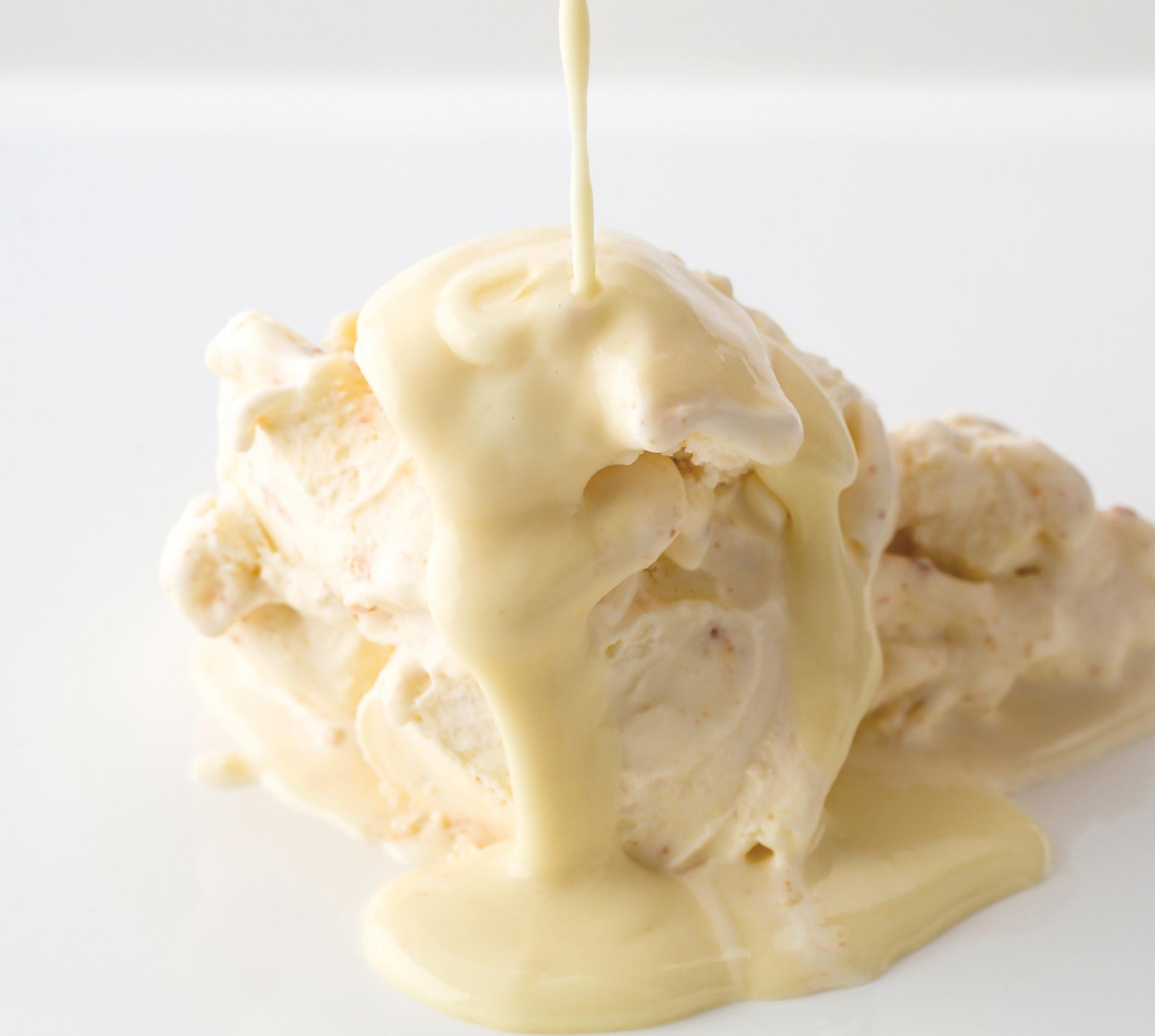 「フォンダンチーズアイスクリーム」1