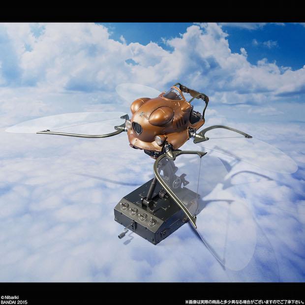 『天空の城ラピュタ』の小型飛行機がフィギュアに! ロボット兵と同時発売