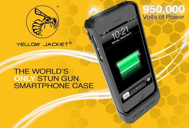 スタンガンになるiPhoneケースが国内販売開始! 安心を携帯せよ