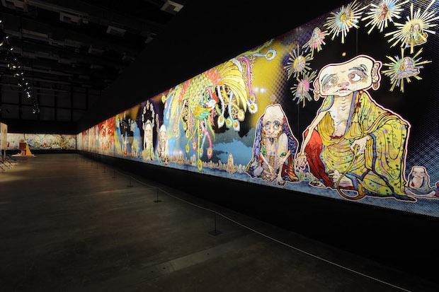 村上隆「五百羅漢図展」 14年ぶりの国内大規模個展、森美術館で開催