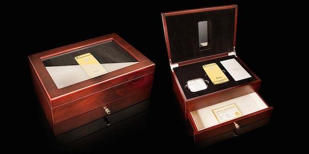 高級チェリーオーク製パッケージボックス