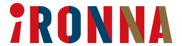「iRONNA」のロゴ