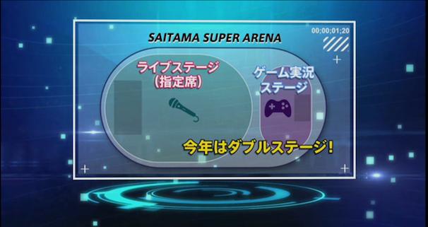 「ニコニコ超パーティー2015」発表会スクリーンショット