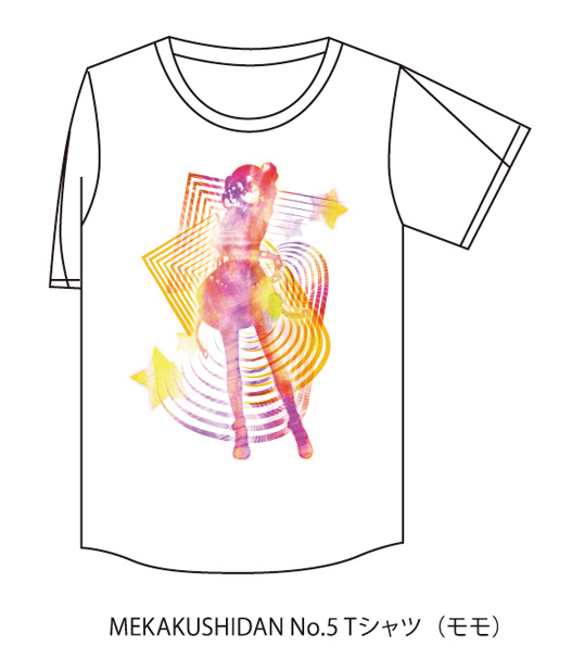MEKAKUSHIDAN No.5 Tシャツ(モモ)