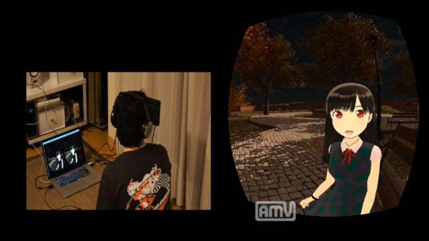 【HENTAIに技術を与えた結果】 バーチャル彼女と会話ができる「公園彼女」