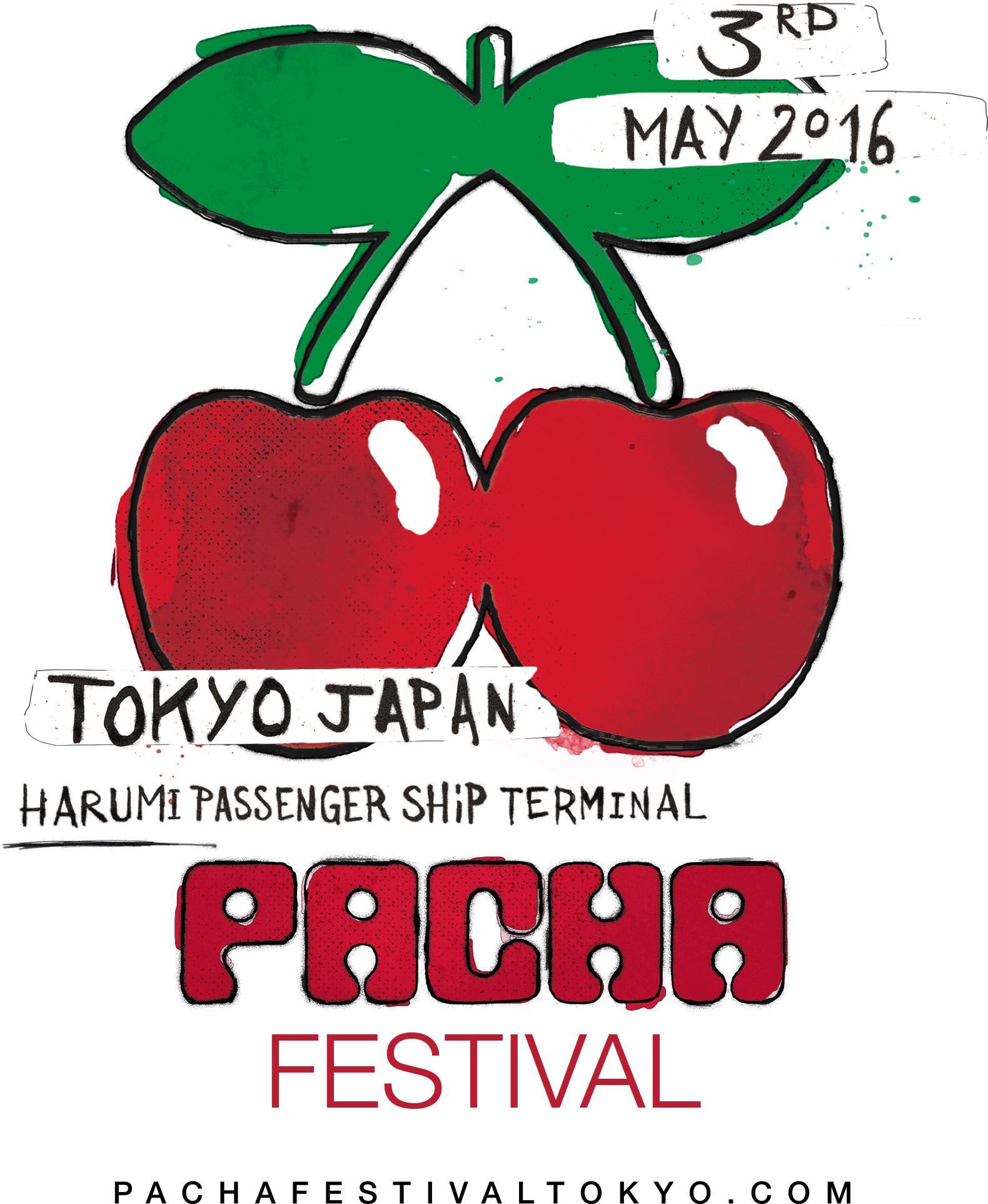 PACHA FESTIVAL TOKYO 2016 logo