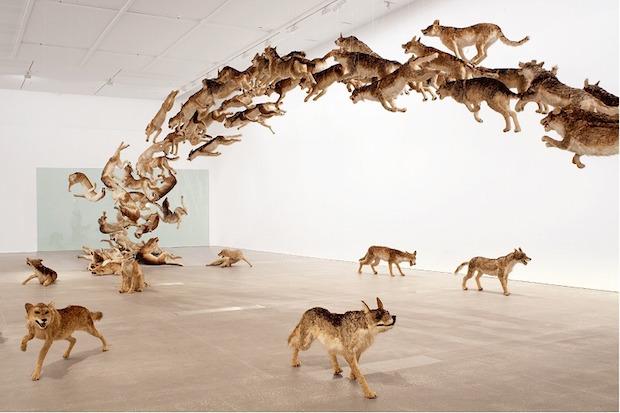 火薬を用いた「爆発のアーティスト」 蔡國強が国内で7年ぶりの個展開催