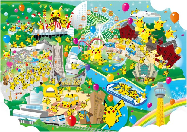 横浜に1000匹のピカチュウあらわる! 「ピカチュウ大量発生チュウ!」開催