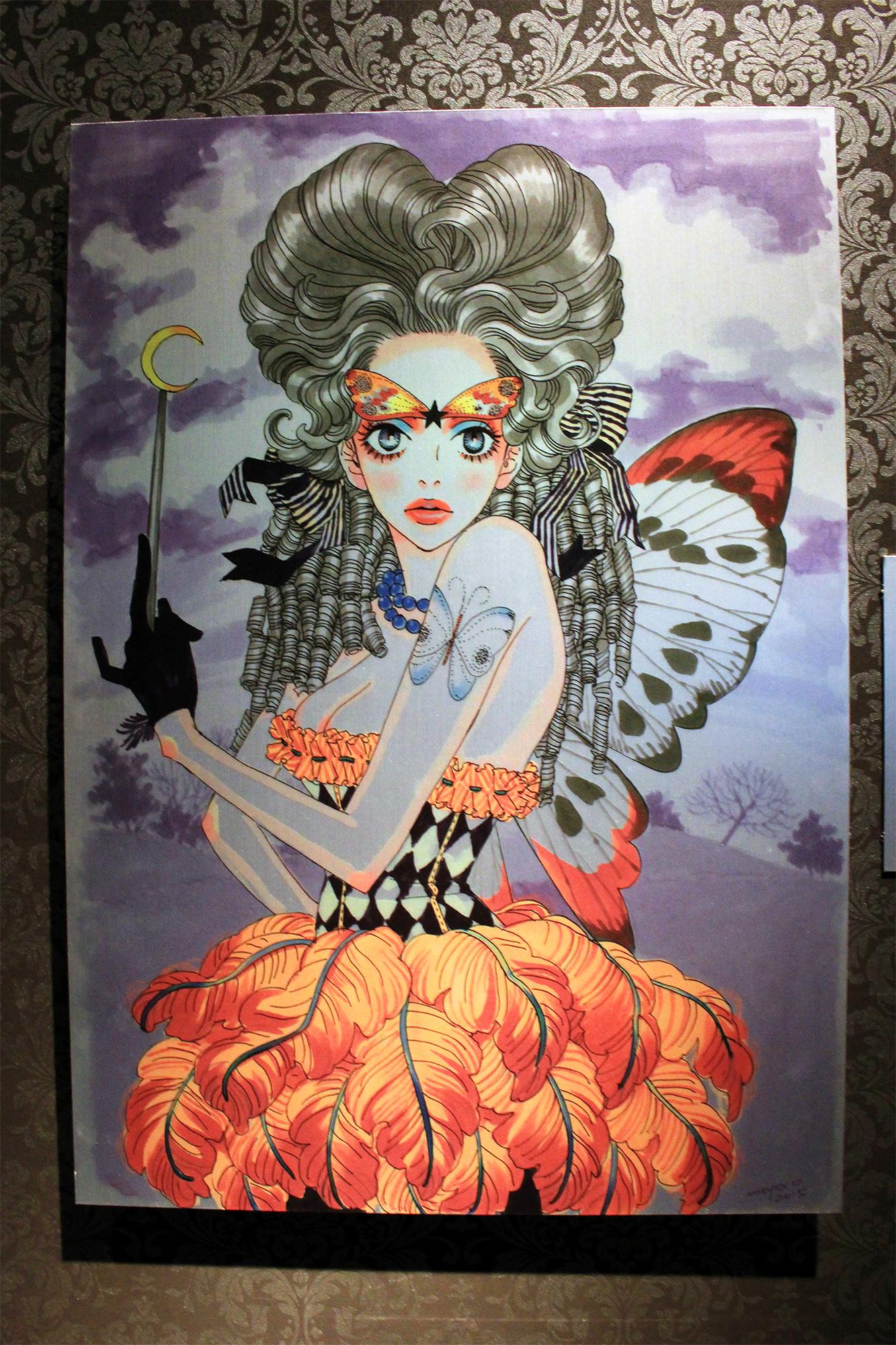 安野モヨコ先生描き下ろし「夕暮れ時の魔女」