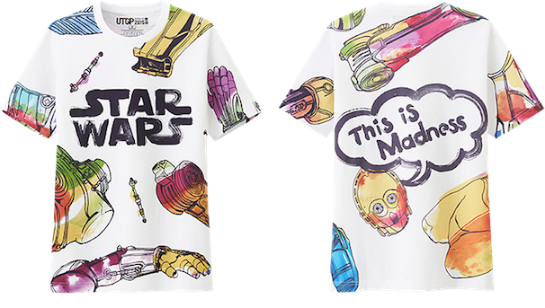 NIGO®賞:岩谷裕介さん作品 UTGP2015 Star Wars/COPYRIGHT (C) UNIQLO CO., LTD. ALL RIGHTS RESERVED.